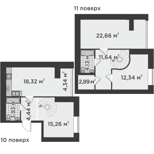 Трикімнатна квартира 99,94 м.кв.